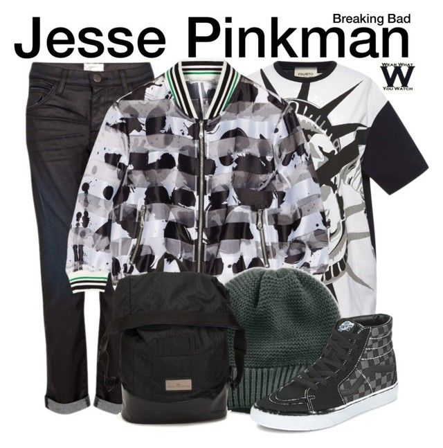 """""""Breaking Bad"""" by wearwhatyouwatch ❤ liked on Polyvore featuring mode, FAUSTO PUGLISI, Current/Elliott, Rebecca Minkoff, The North Face, Vans, adidas, television et wearwhatyouwatch"""