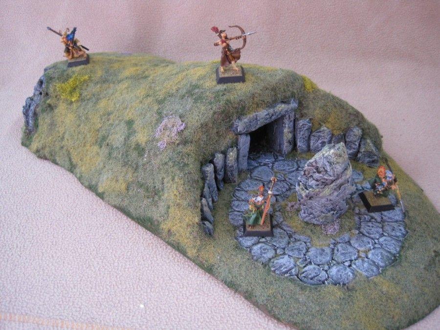 Barbarian Basic Terrain Set Zaboobadidoo Dnd Miniatures Wargaming Terrain Warhammer Terrain
