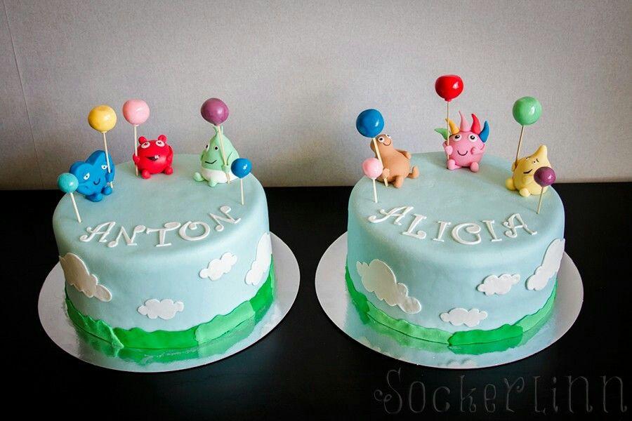 Babblarna Babblarnatårta Tårta Tårtor Cakes Cake Birthday Födelsedag