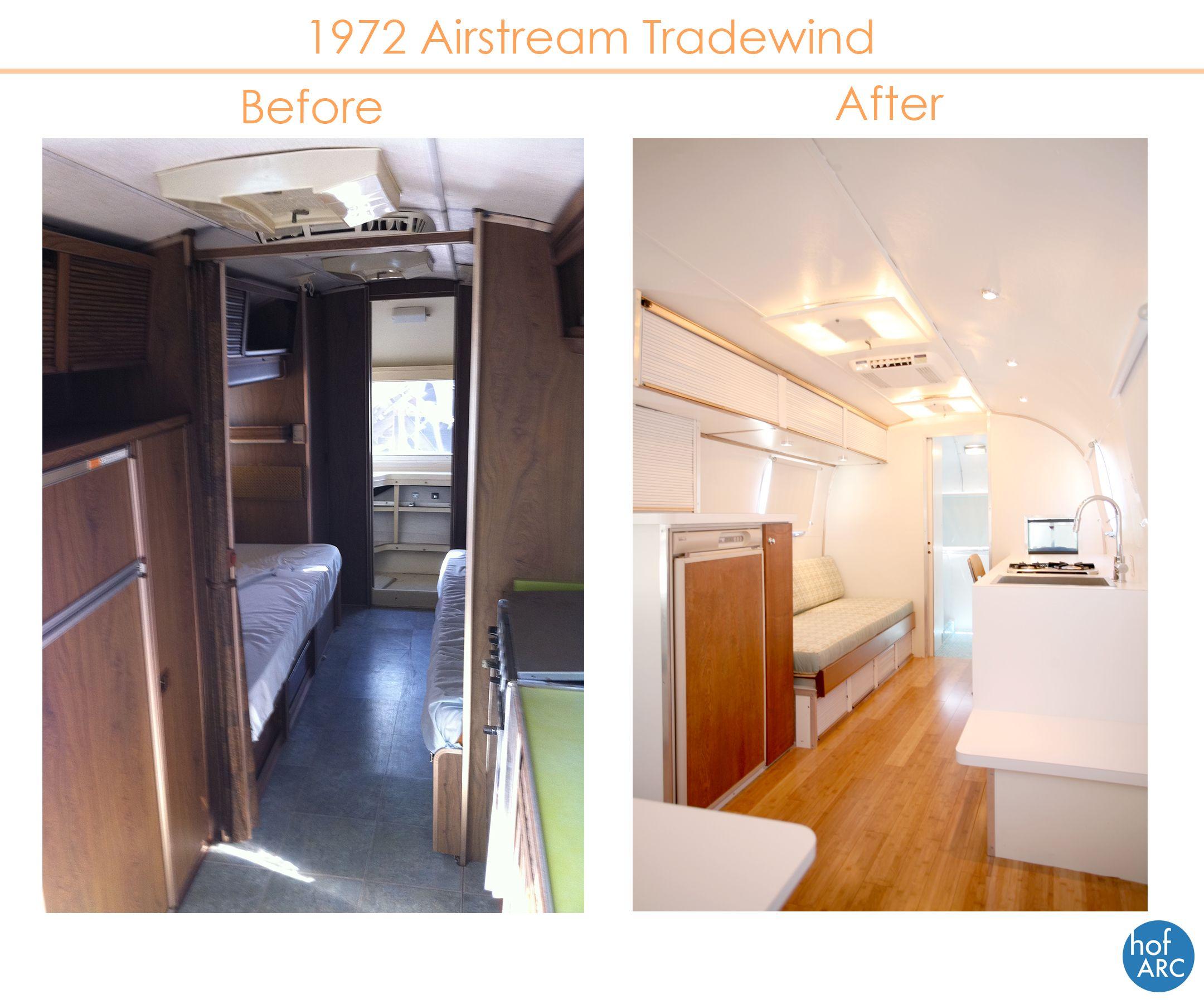 1972 Airstream Tradewind Affordable Interior Design Airstream Interior Airstream Renovation