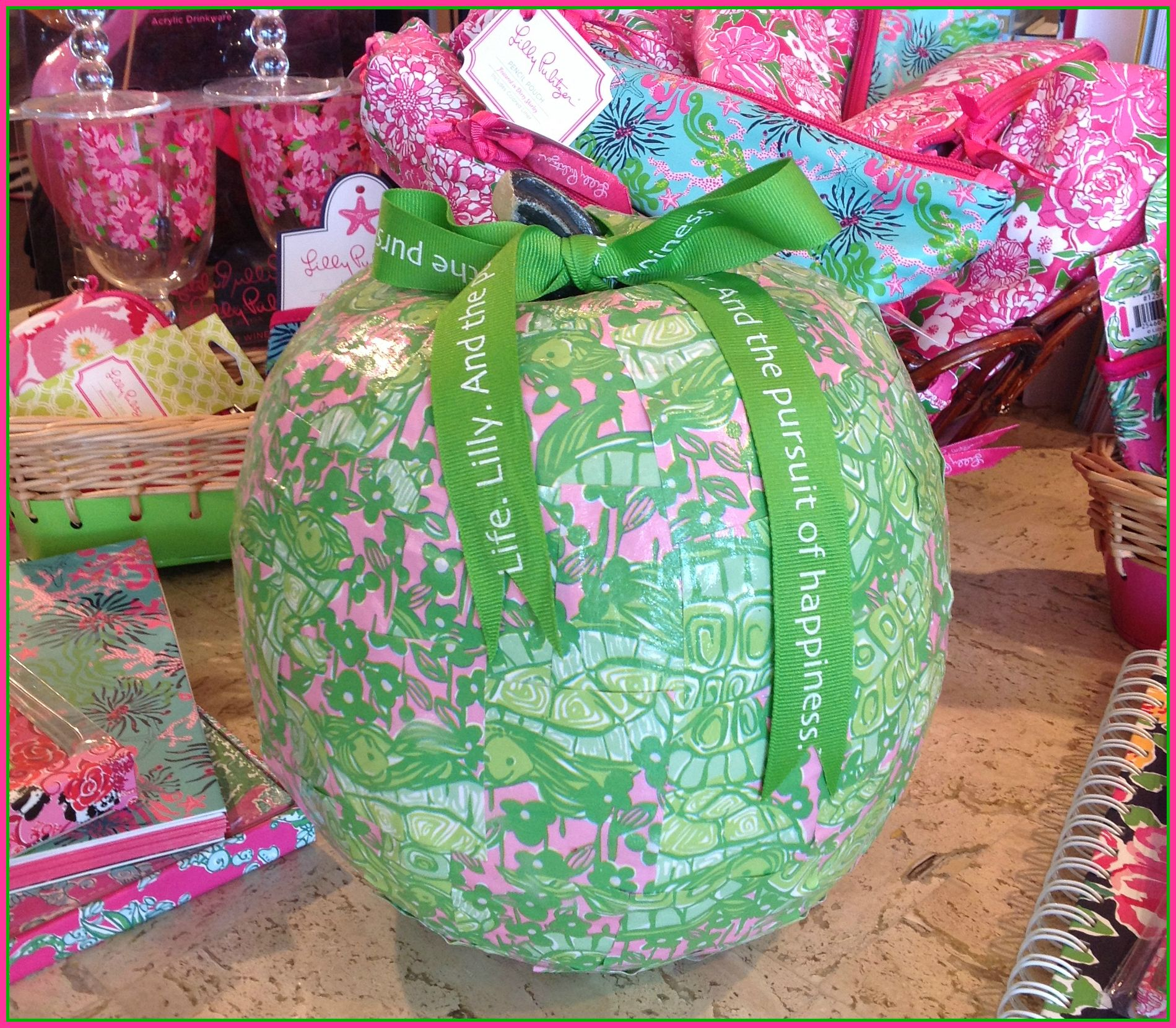 Make Your Own Lilly Pulitzer Pumpkin Diy