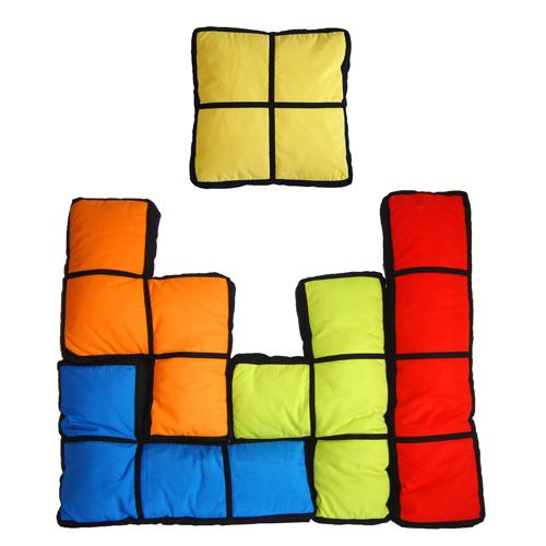 cojines tetris | Friki | Pinterest | Cojines originales, Últimas