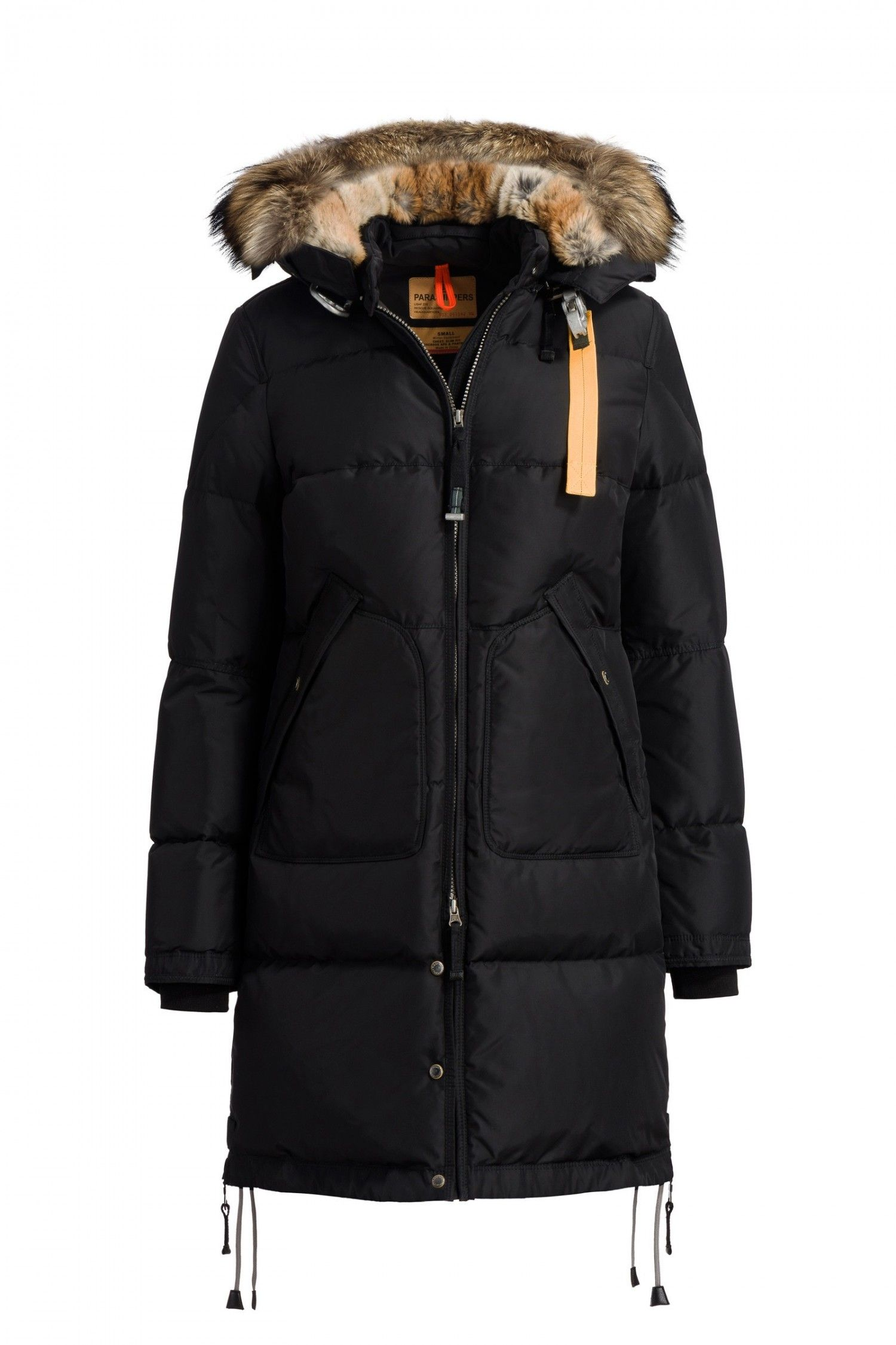 parajumpers jas, parajumpers outlet, parajumpers sale,Parajumpers Vrouw Long Bear Masterpiece Zwart