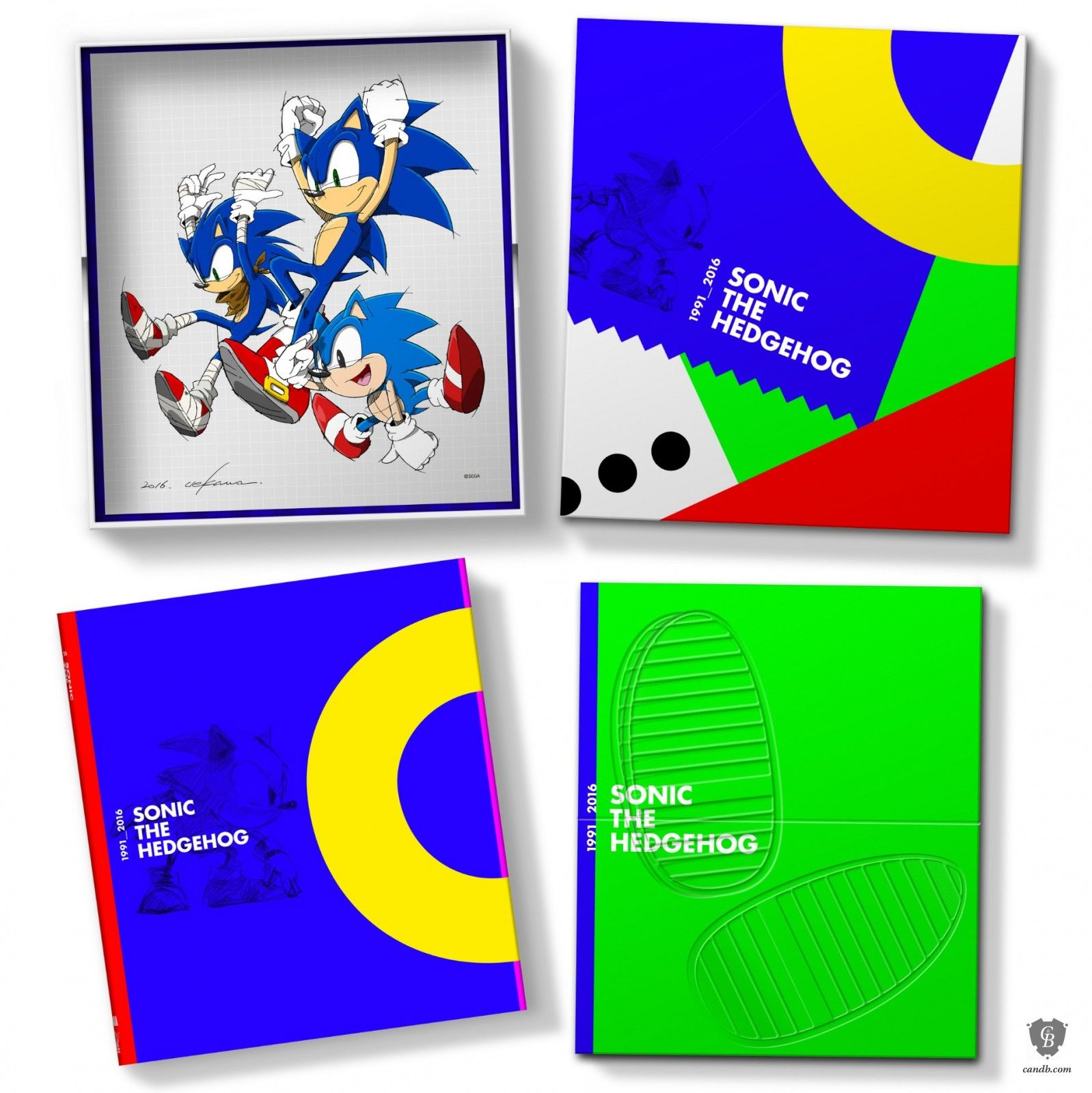 Sonic The Hedgehog 25th Anniversary Art Book Collector s Edition