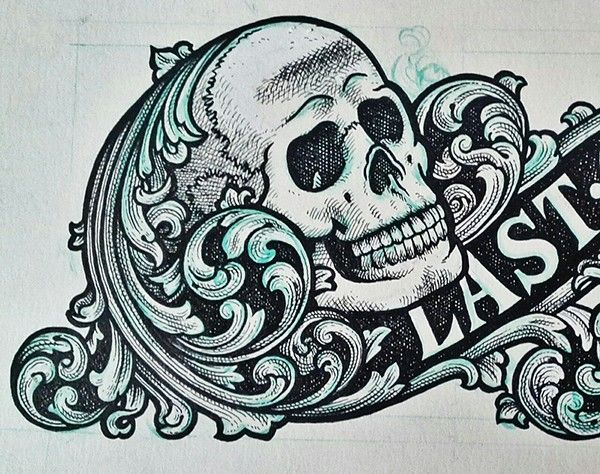 Gasp Design last gasp logo design process b d t 77 design