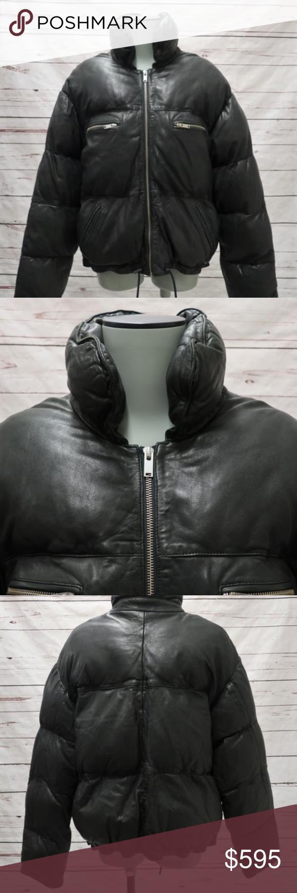 Isabel Marant Etoile Leather Breyso Puffer Jacket Isabel Marant Isabel Marant Etoile Puffer [ 1740 x 580 Pixel ]