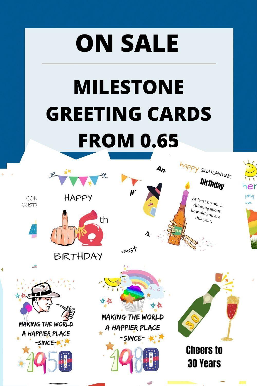 Milestone cards happy retirement cards happy