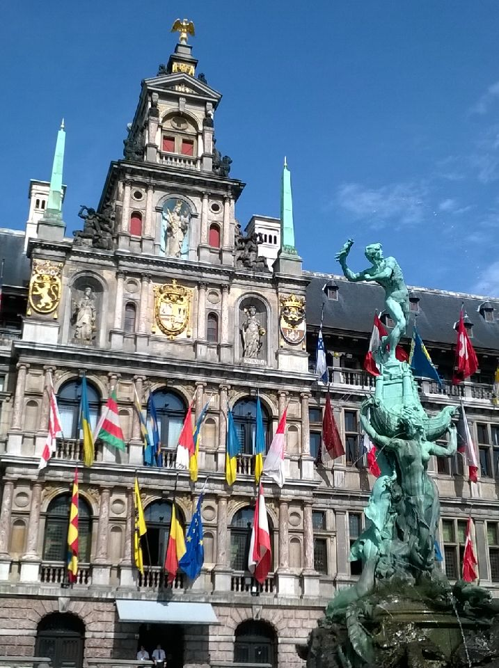 Antwerp City 風景