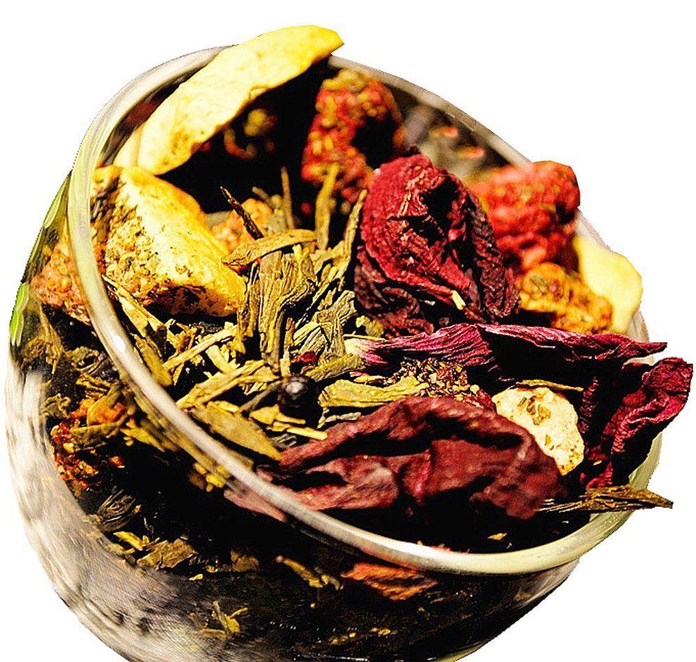 Berry Berry Green Tea Berry Tea Chinese Tea Green