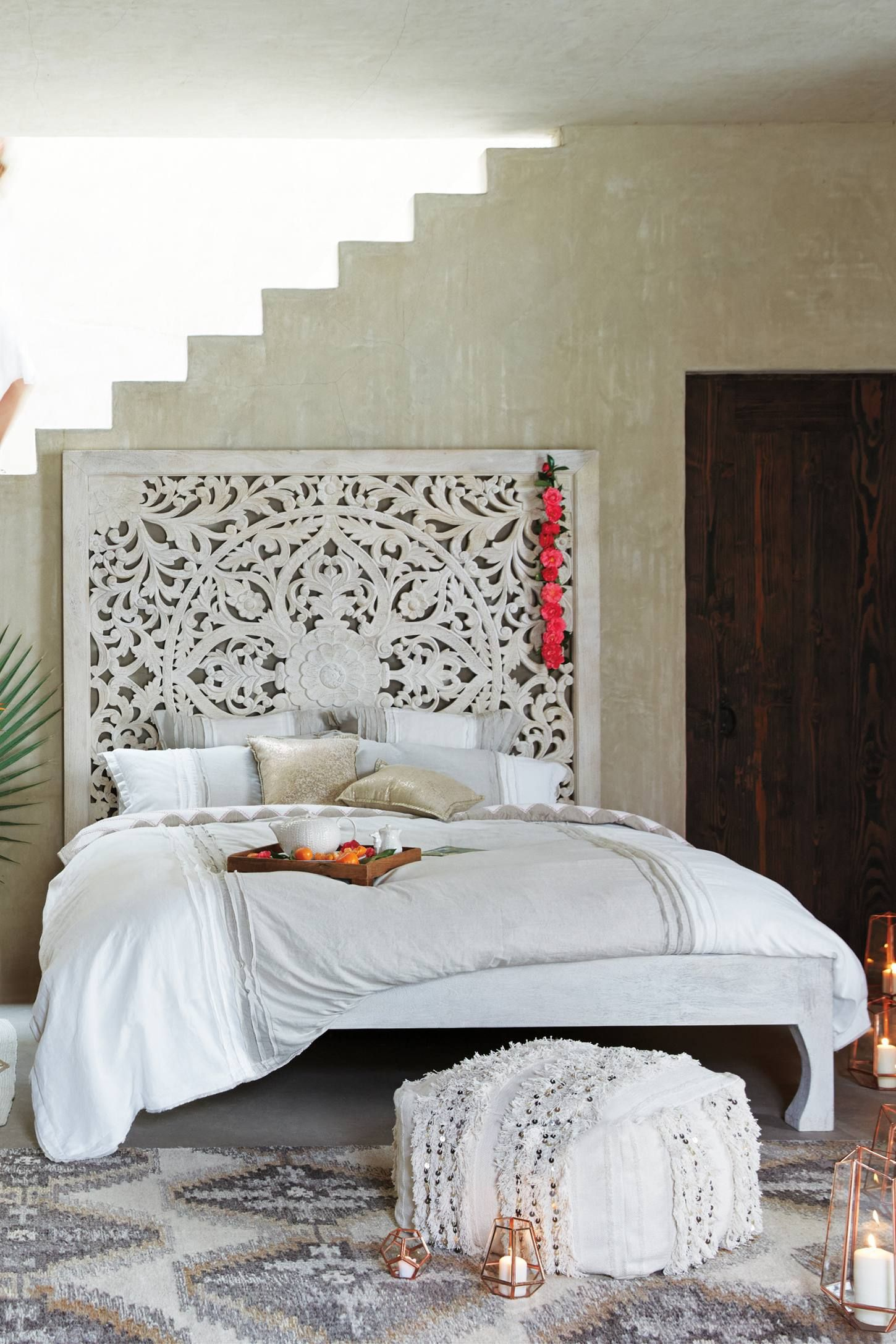 Lombok bed lombok anthropologie and bedrooms