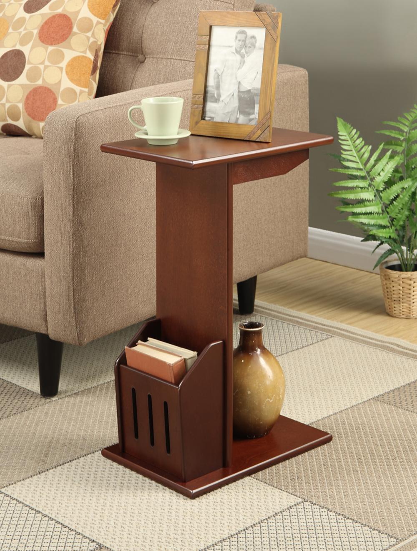 Walmart Furniture Online: Convenience Concepts Designs2Go Abby Magazine C End Table
