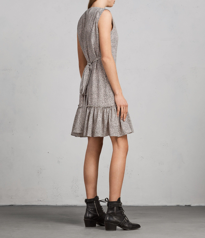 a9e05e2d072a ALLSAINTS UK: Womens Rene Leodot Silk Dress (Pale Pink) | šití ...
