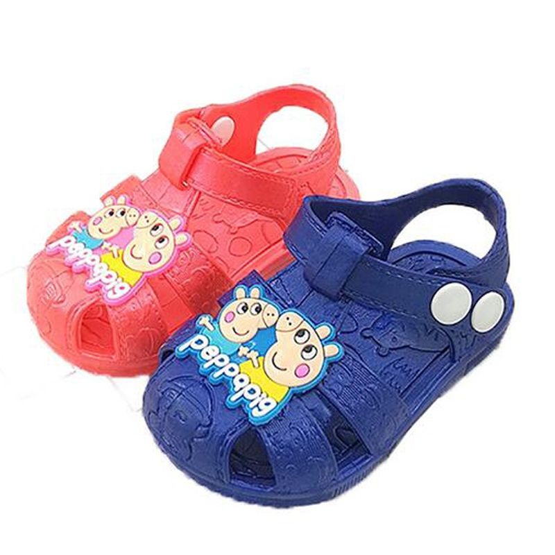 8d4902eaa Click to Buy    Kids Boys girls soft botton summer cartoon toddler girl sandals  shoes for girl 7boys 6M 9M 1 2 3 4 years old  Affiliate
