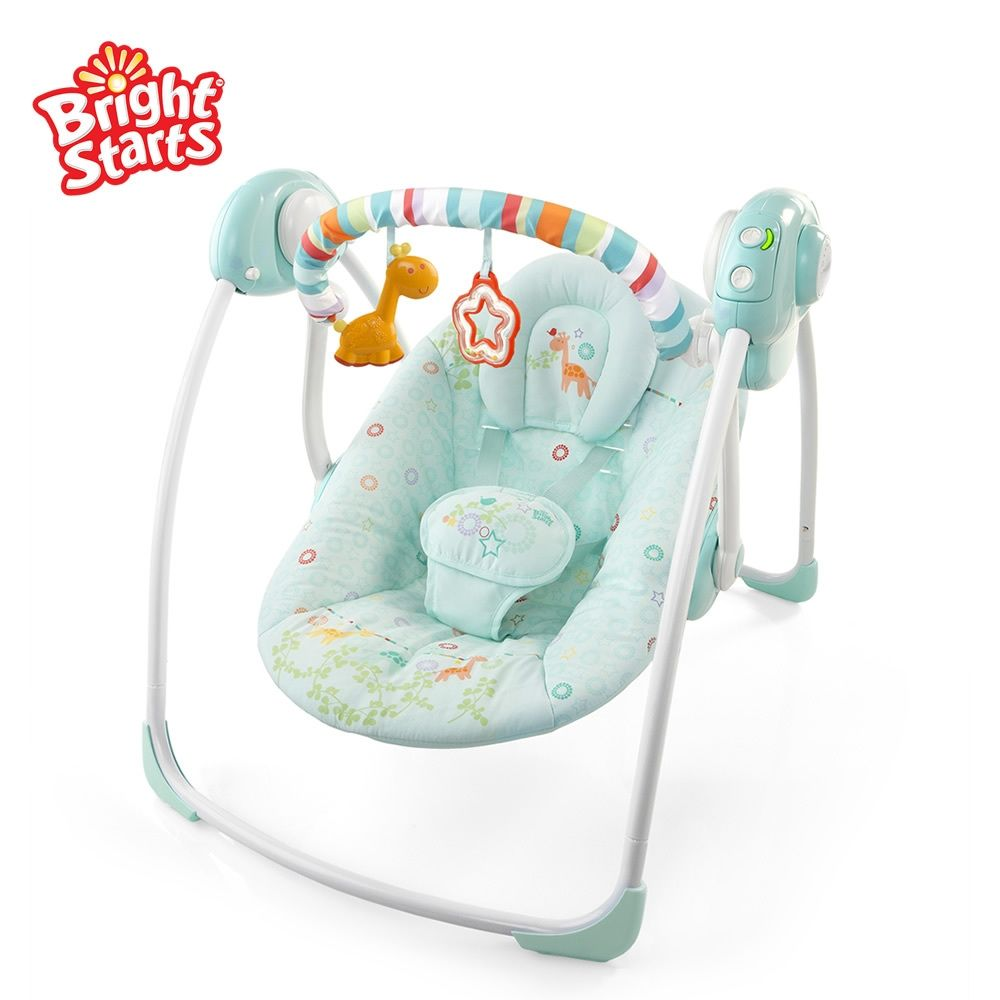 Bright starts blue dream of placating the swing baby rocking chair
