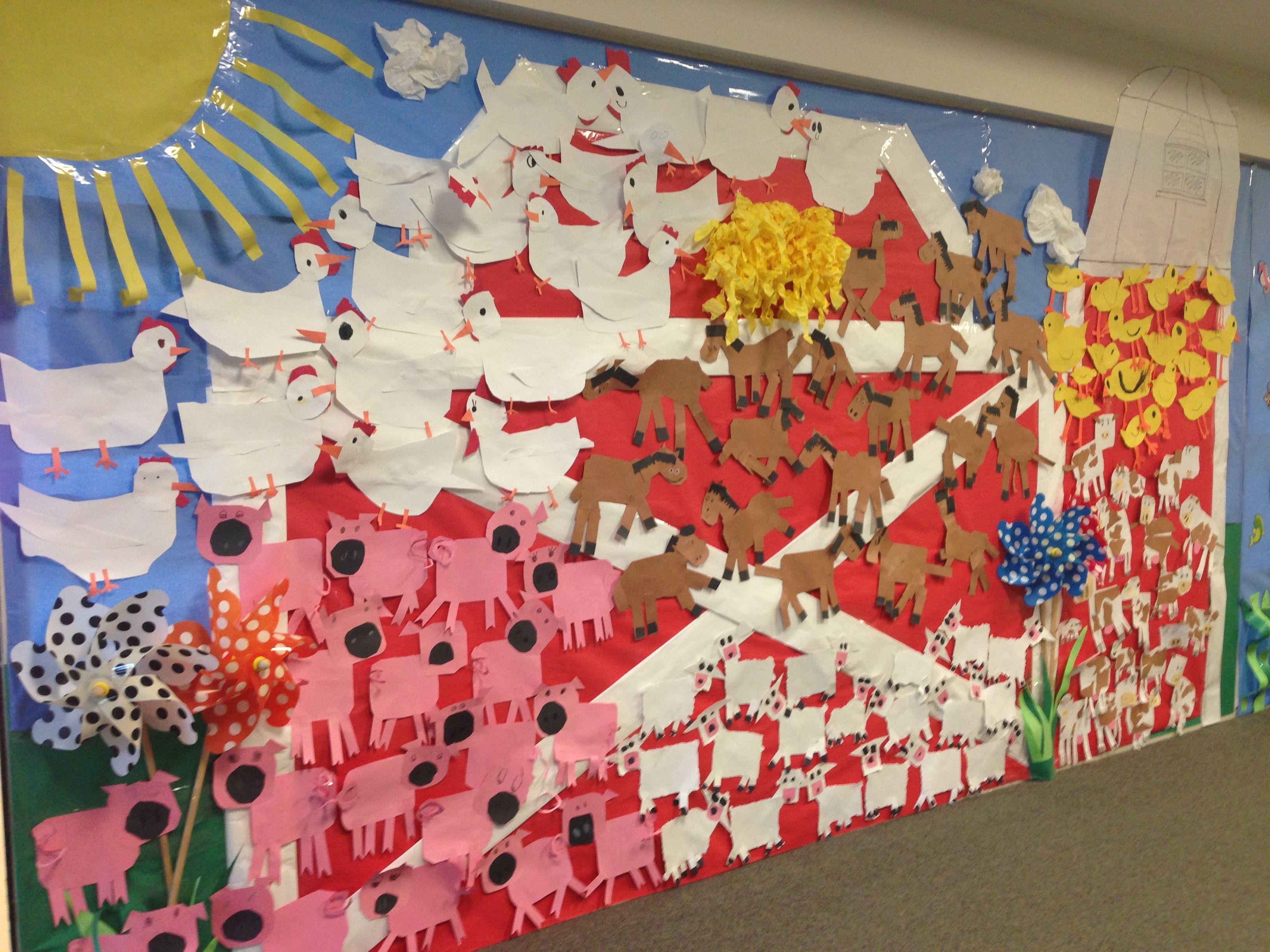Elementary School Bulletin Board For Farm Week
