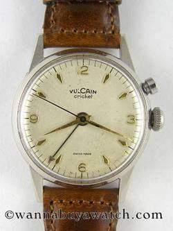 An Original Vintage Vulcain Cricket - HODINKEE #bremont Swiss Watchmakers #horlogerie #vulcain @calibrelondon