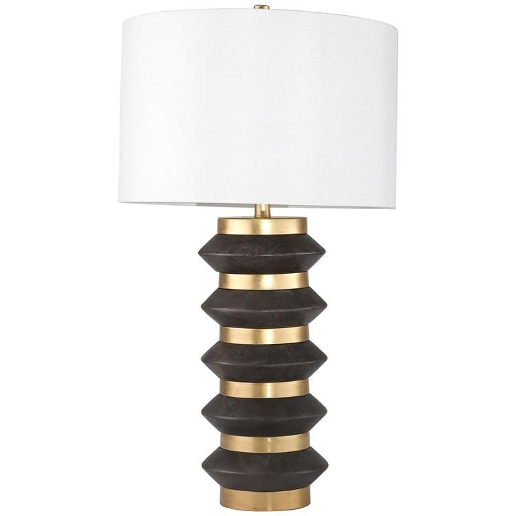 Spiked Table Lamp Gold In 2020 Table Lamp Circle Table Room