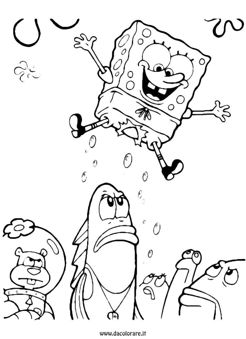 Groß Spongebob Riese Malvorlagen Ideen - Malvorlagen Von Tieren ...