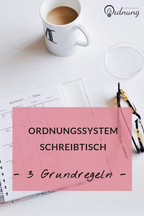 Photo of Schreibtisch aufräumen und organisieren • [Tipps vom Profi]