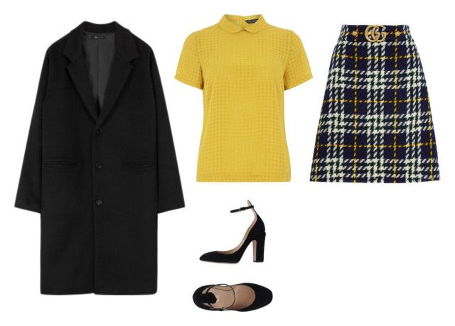"""""""Untitled #812"""" by ariannastradlin ❤ liked on Polyvore featuring Gucci, Dorothy Perkins and Valentino"""