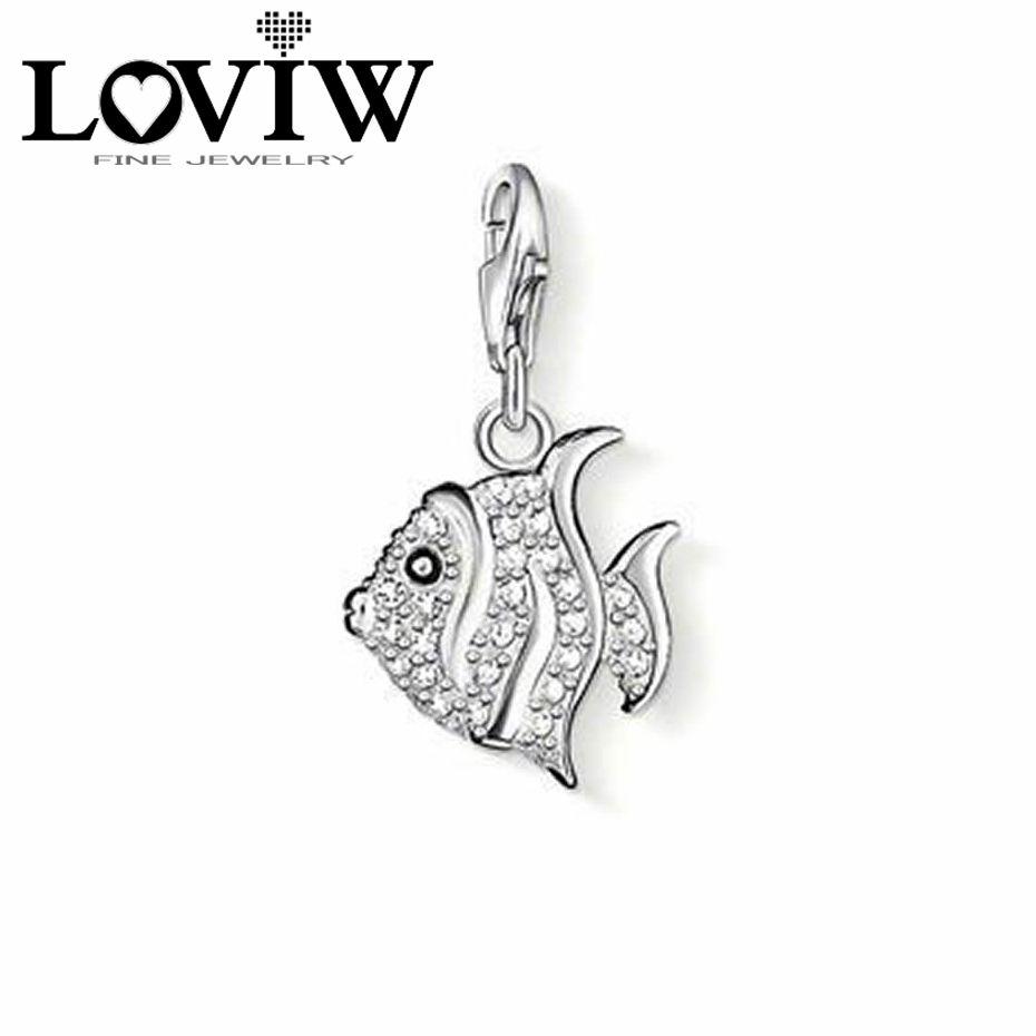 Animal fish charm pendants for women girls fit diy bracelets