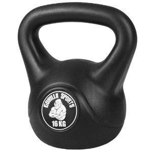 16kg Kettlebell Kettlebell Sports Vinyl No Equipment Workout