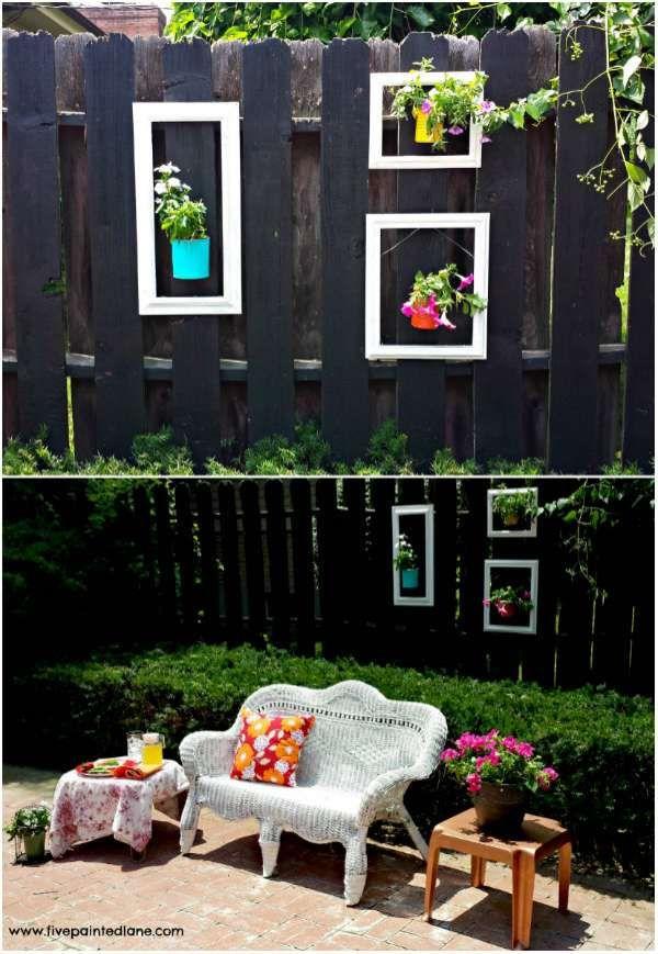 23 merveilleuses id es diy pour d corer votre jardin garden jardins idee deco jardin et - 50 astuces pour decorer son jardin ...