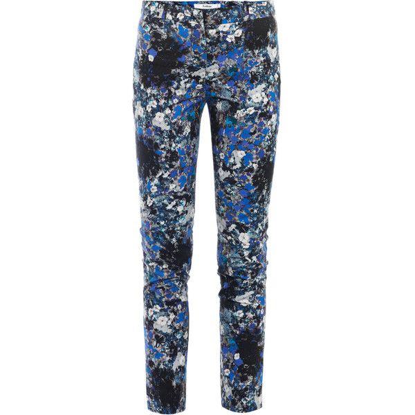 Erdem Melinda printed trousers ($397) found on Polyvore