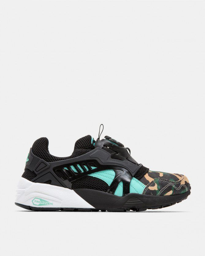 Ubiq atmos x Titolo x Puma Disc Blaze | Sneakers, Asics sneaker ...