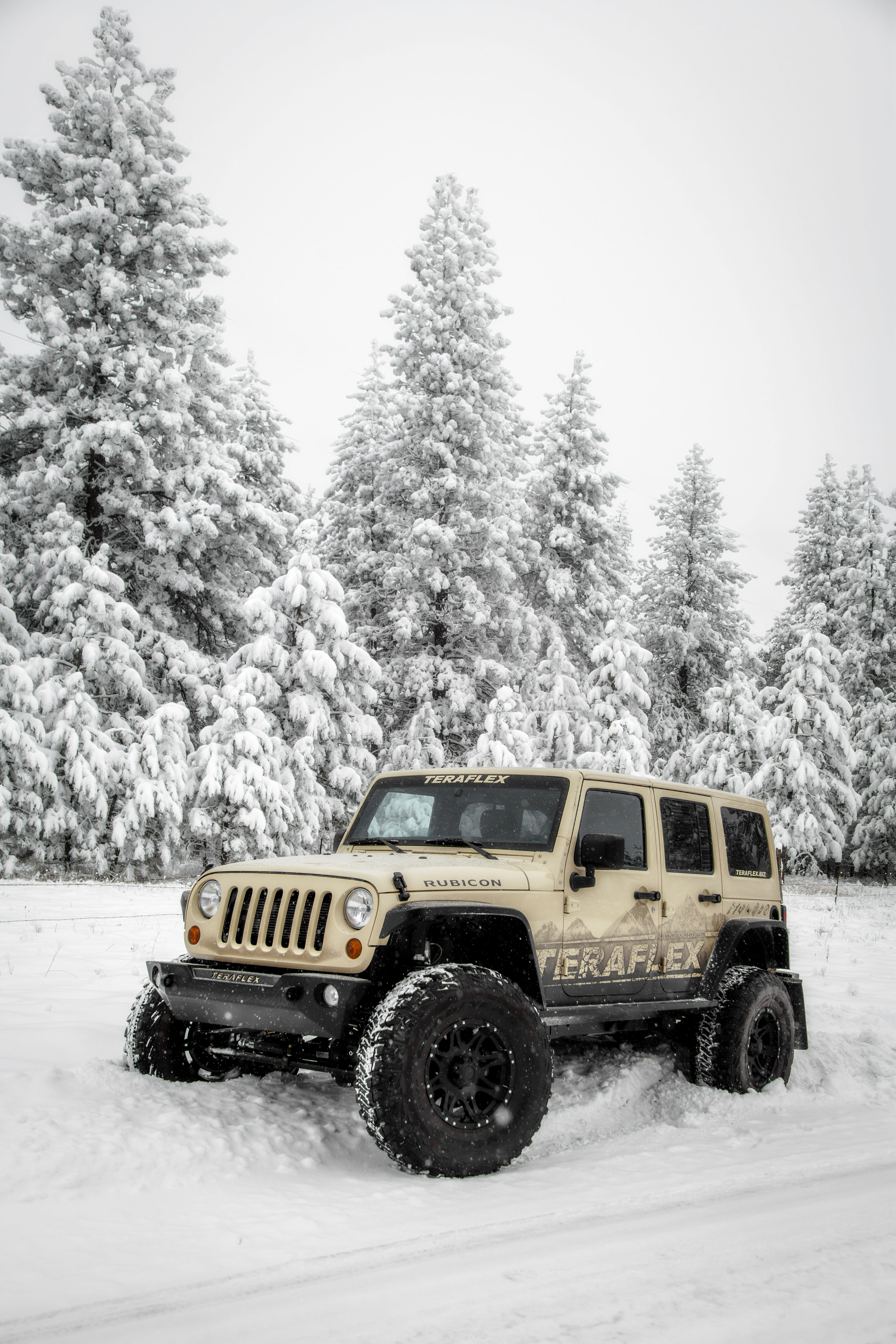 Teraflex jeep build nomad defender in the snow land rover jeep suzuki lj sj of road cool ice love best car fun winter stanpatzitw