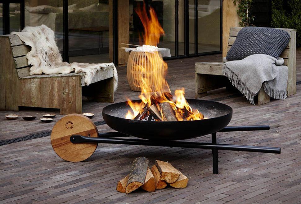 Wheelbarrow Barbecue Fire Pit Backyard Cheap Fire Pit Backyard