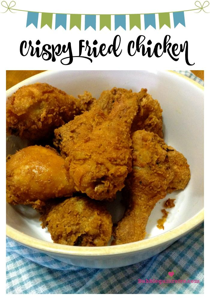 Juicy chicken with a crispy coated blend of herbs & spices that the whole family will enjoy. bubblegumretro.com