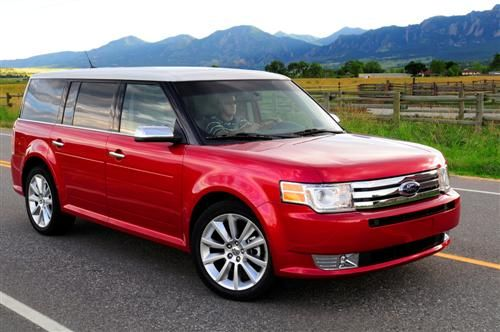 2010 Ford Flex A Nice Vehicle With Loads Of Legroom In The