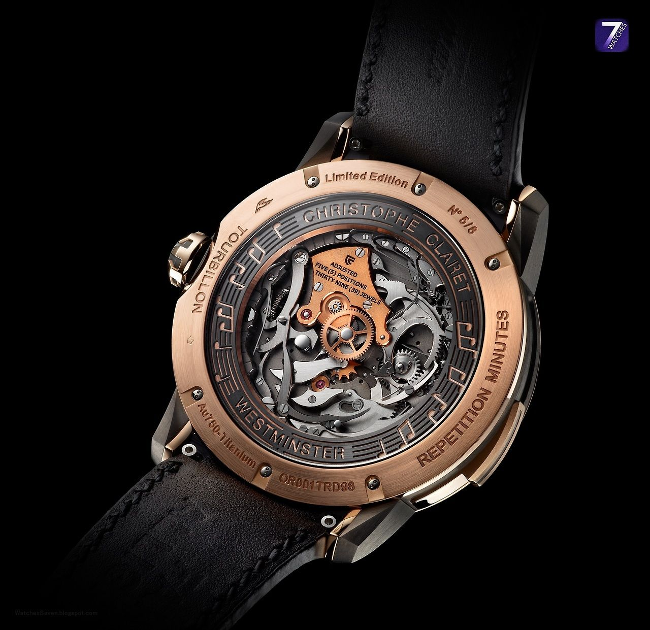 CHRISTOPHE CLARET u SOPRANO Flying Tourbillon Calibre TRD