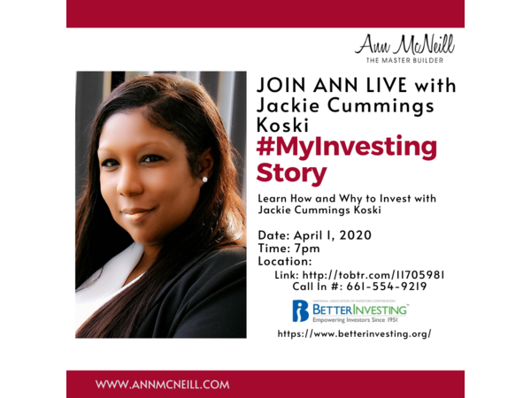 Learn How And Why To Invest With Jackie Cummings Koski 04 01 By International Mastermind Assoc Lifestyle Investing Learning Investment Advisor