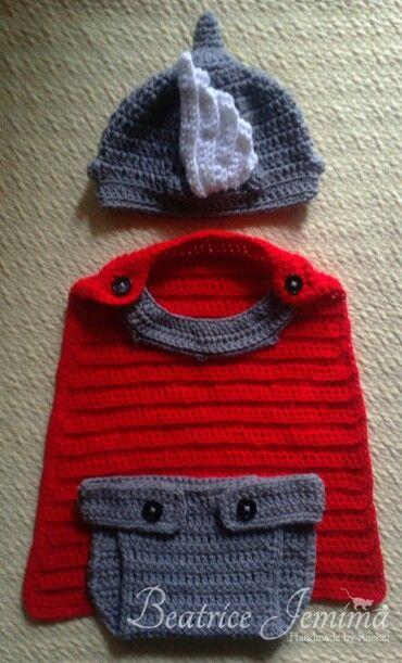 crochet thor costume | crochet | Pinterest | Häkeln, Häkelmuster und ...