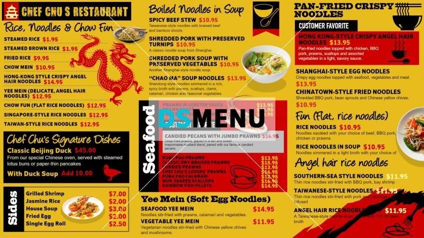 10 Food Brochure Design Samples For Inspiration Jayce O Yesta Menu Layout Brochure Food Food Menu Design
