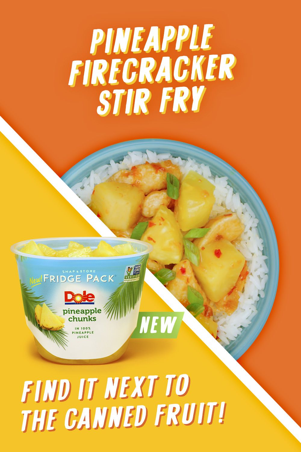 This Pineapple Firecracker Stir Fry is really going to