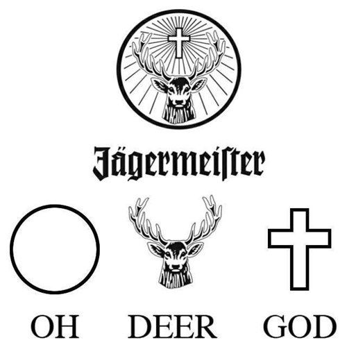 So That S What The Symbol Means Funny Puns Make Me Laugh Jagermeister