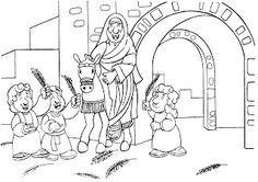 1515b5d31d8 O JUMENTINHO QUE SERVIU A JESUS! A entrada triunfal de JESUS em ...