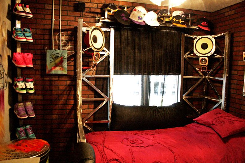 Hip Classroom Decor ~ Hip hop room teen for joy makeovers