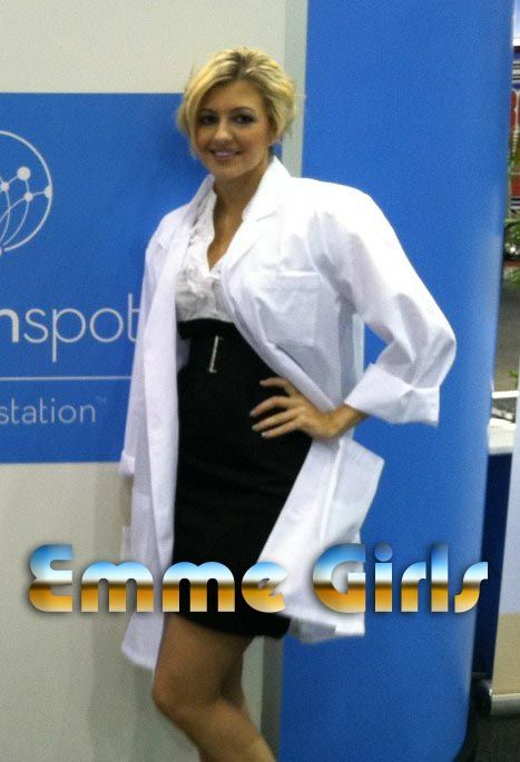 Chicago modeling agency staffing #tradeshow models at #IMTS