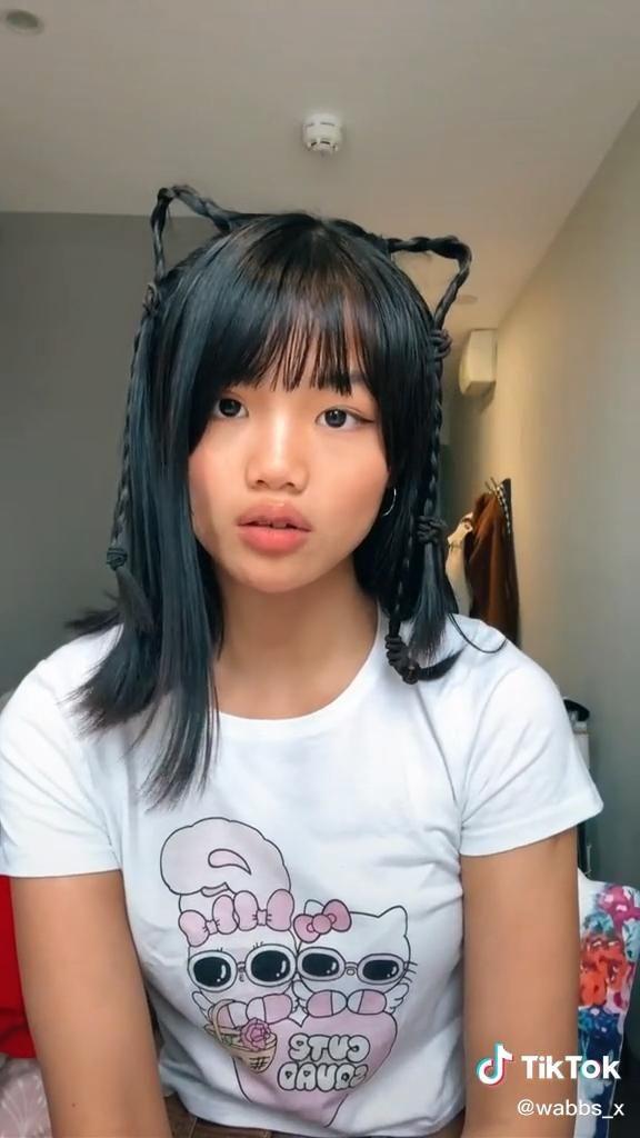 Cat Ear Hair Tutorial Video Hair Styles Hair Tutorial Cute Hairstyles
