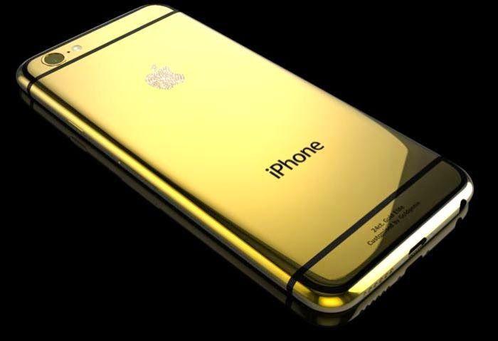 Gold And Platinum iPhone 6 Plus For $5,000