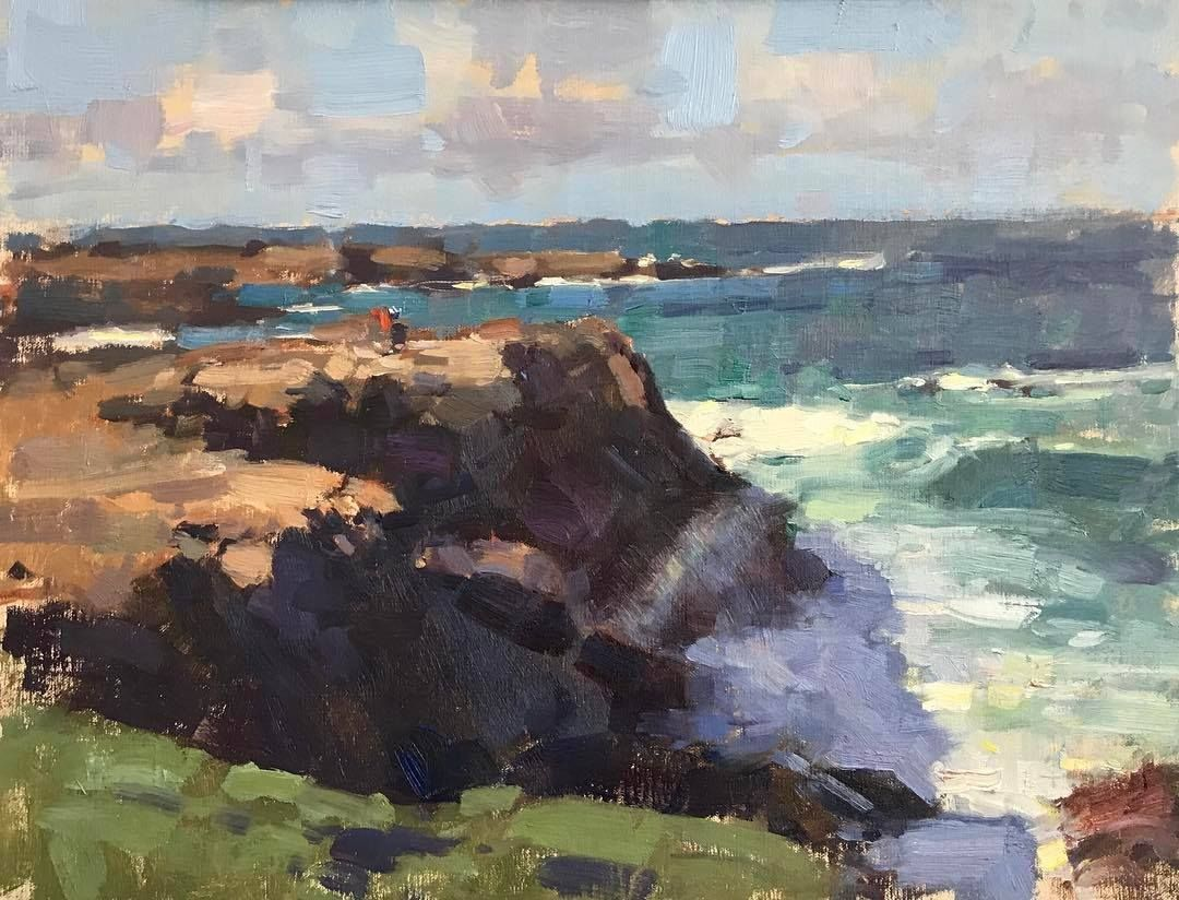 Jim McVicker, demo | Things to paint | Landscape paintings ...