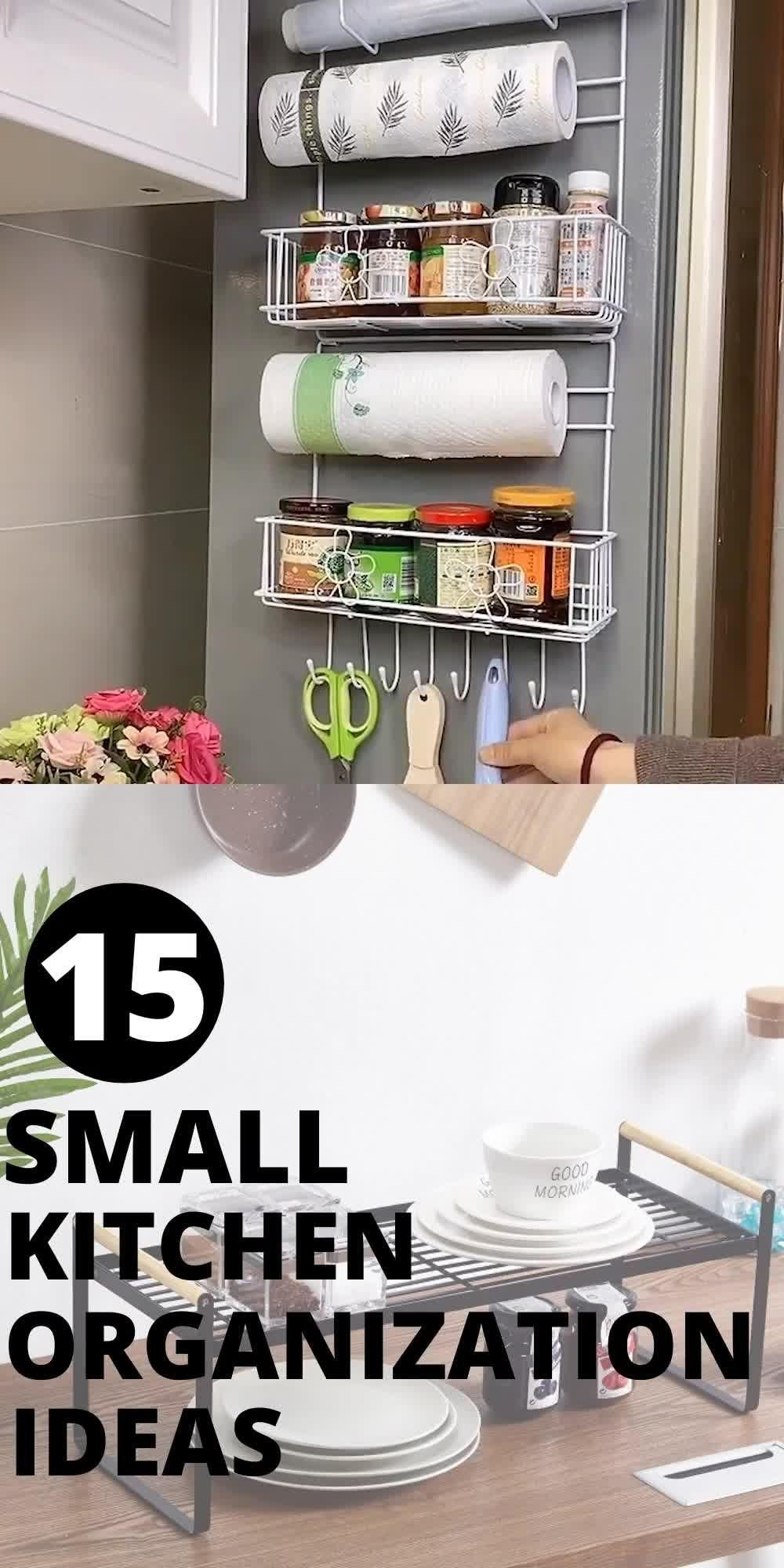 15 Amazing Organization Ideas For Small Kitchen Cabinets ( 3 is everybody's favorite)