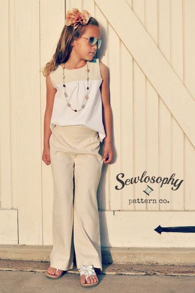 New Patterns! The Serendipity Trousers & Capris Sewing Pattern - the ...