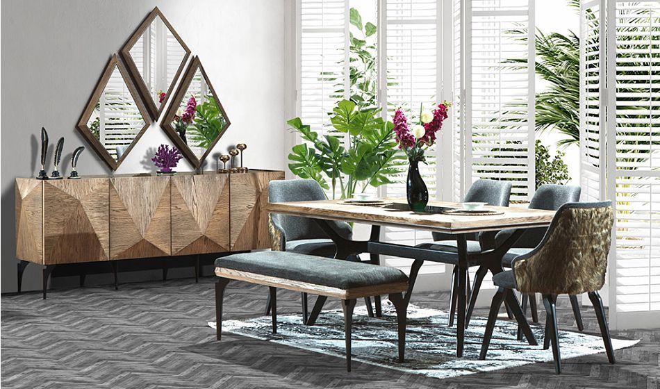 fuga yemek odasi dekor mobilya mobilya fikirleri