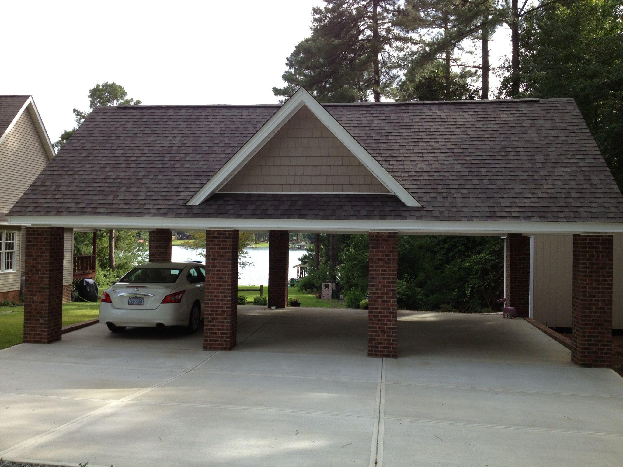 Carport Addition To Brick House Carport Addition Carport Carport Plans
