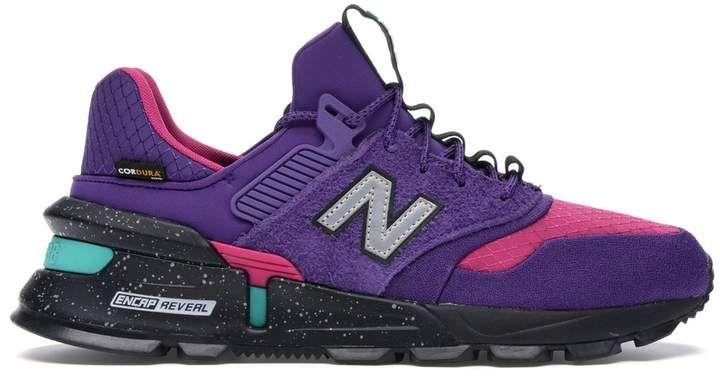 New Balance 997S Cordura Purple Pink #sportswatches